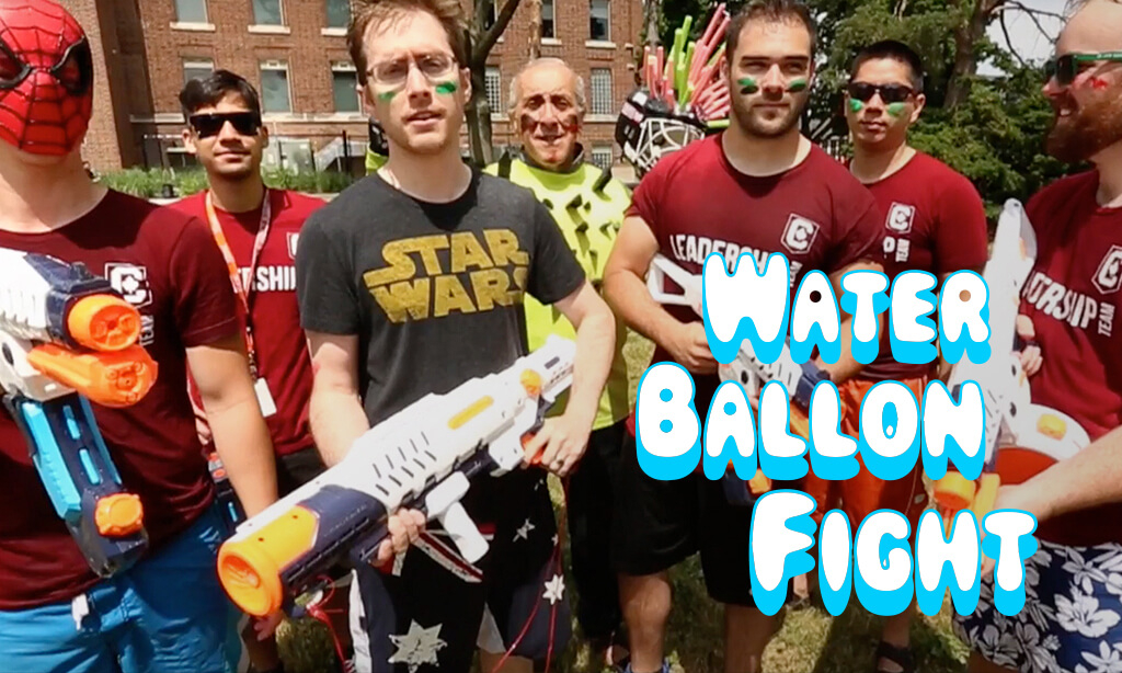 Epic Water Balloon Fight – Students vs. Teachers