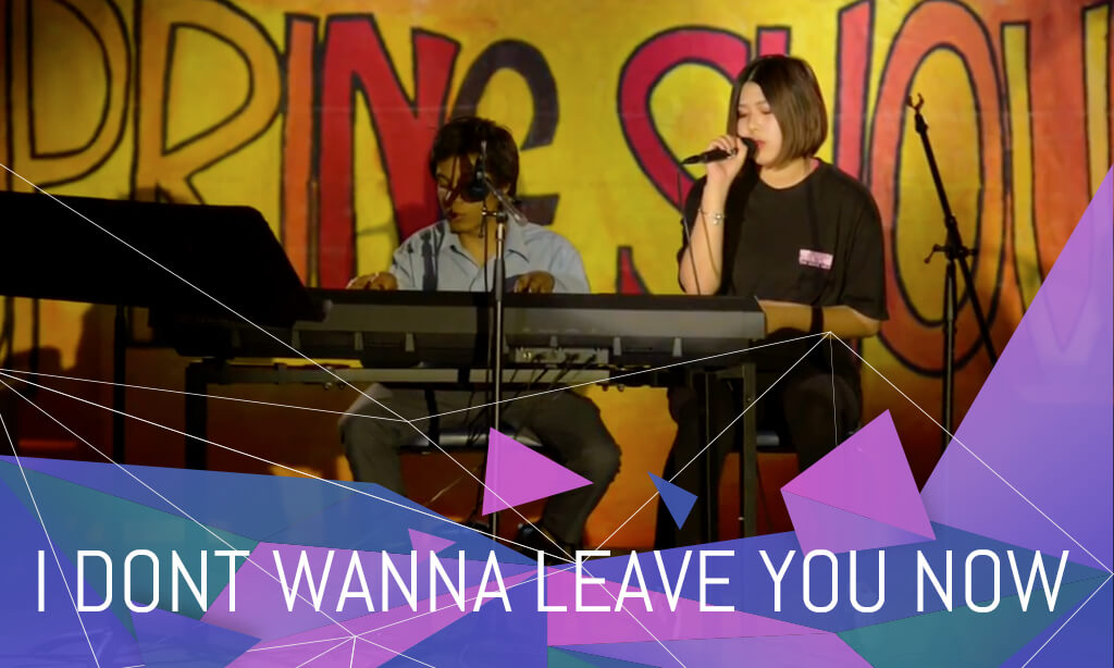 I Don't Wanna Leave You Now – CIC's Got Talent