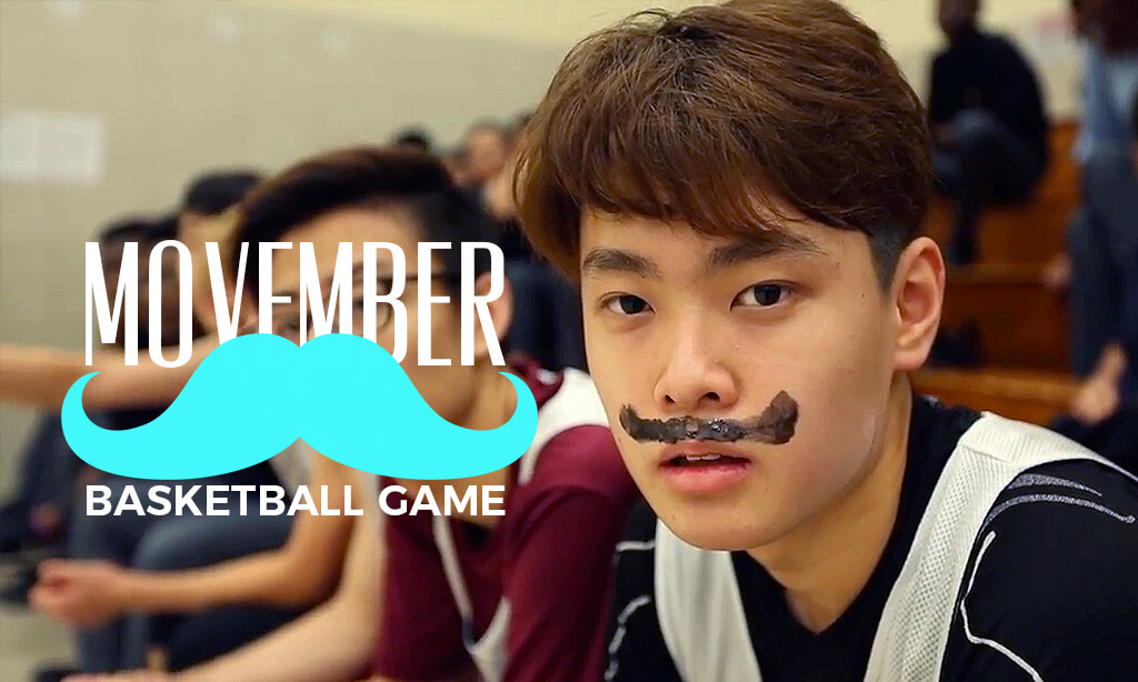 Movember Basketball Game