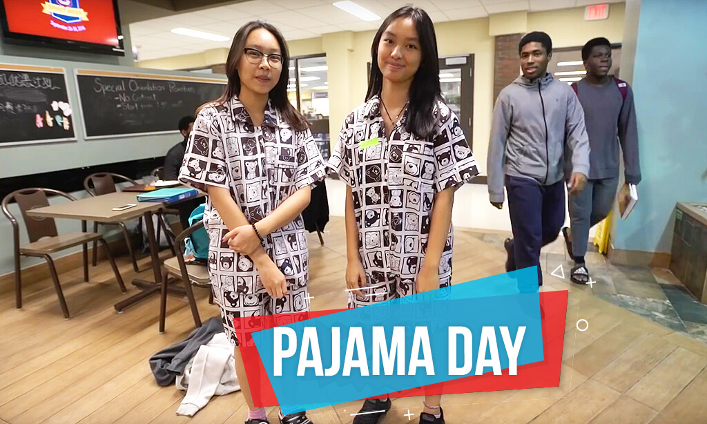 It's Pajama DAAAY!