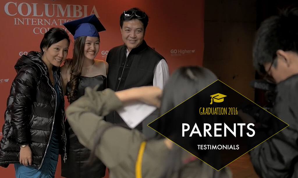 Parents Share Their Joy at May 2016 Columbia Graduation