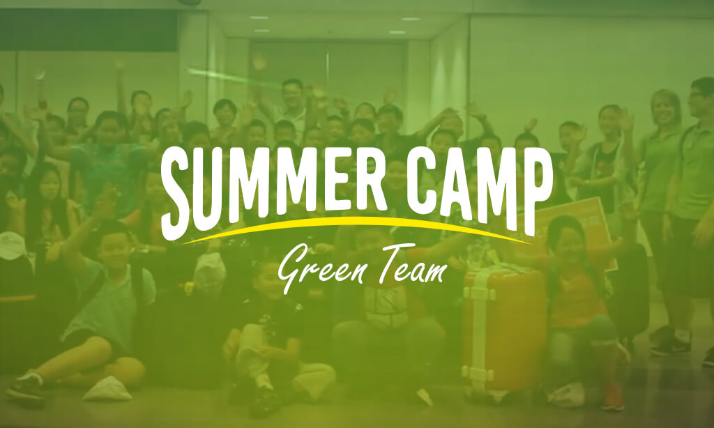 Summer Camp in Canada – Green Team